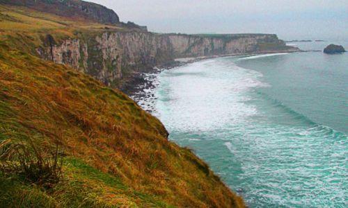 IRLANDIA / Północne wybrzeże /  Wybrzeże Causeway / Króciutko na wyspę św. Patryka
