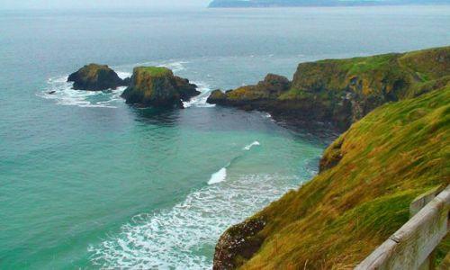 Zdjęcie IRLANDIA / Północne wybrzeże / Wybrzeże Causeway / Króciutko na wyspę św. Patryka