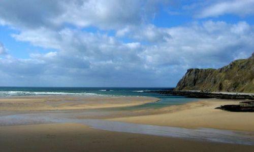 Zdjecie IRLANDIA / Donegal / Malin / Trawbreaga Bay