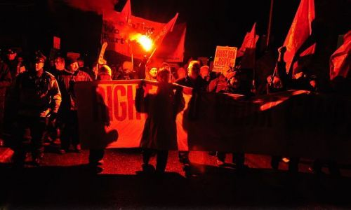 Zdjęcie IRLANDIA / dublin / Dublin / Anti ACTA stike