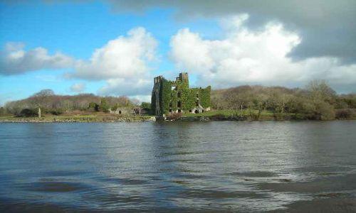 Zdjęcie IRLANDIA / Hrabstwo Galway / Galway / Zameczek nad Lough Corrib