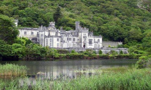 Zdjęcie IRLANDIA / Connacht / Kylemore Abbey / Wspomnienie z zielonej Eire
