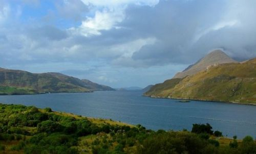 Zdjecie IRLANDIA / Connemara / Killary Harbour / ...