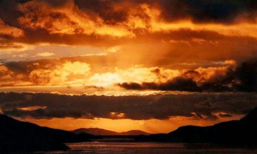 Zdjęcie IRLANDIA / Connemara / Fiord Killary / Zachód słońca