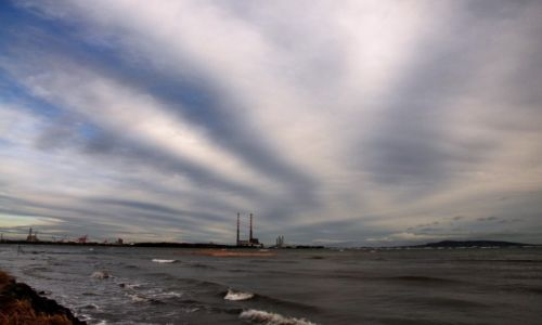 Zdjęcie IRLANDIA / Dublin / Dublin / Niebo nad Dublinem