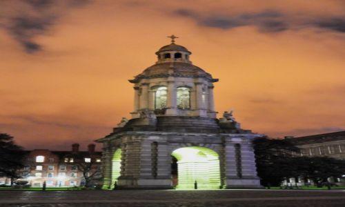 Zdjęcie IRLANDIA / Dublin / Dublin / Dublin nocą