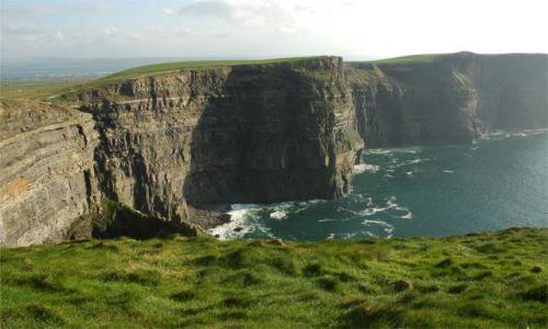 Zdjecie IRLANDIA / brak / okolice Galway / klify Moheru