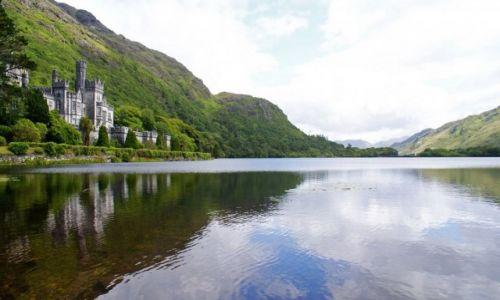 IRLANDIA / Connemara  / Kylemore Abbey - Connemara / Kylemore Abbey