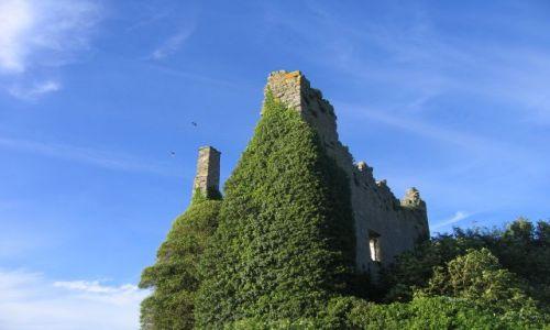 Zdjecie IRLANDIA / Hrabstwo Limerick / Dromineer / Ruiny XIIIw.Dro