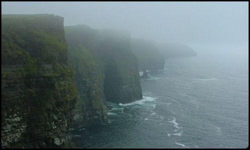 Zdjęcie IRLANDIA / Co.Clare / brak / Cliffs of Mohers- w kolorze