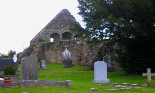 Zdjęcie IRLANDIA / Hrabstwo Limerick / Newtown / Cmentarz w Newtown