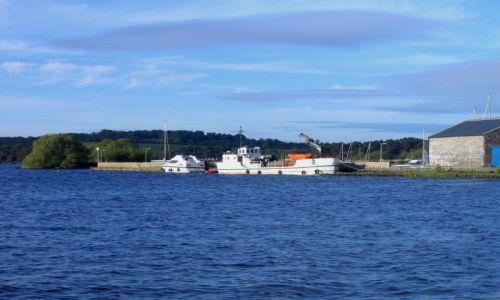 Zdjęcie IRLANDIA / Hrabstwo Limerick / Dromineer / Port w Dromineer