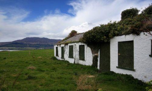 Zdjecie IRLANDIA / County Armagh / Rostrevor / Irlandzka wieś
