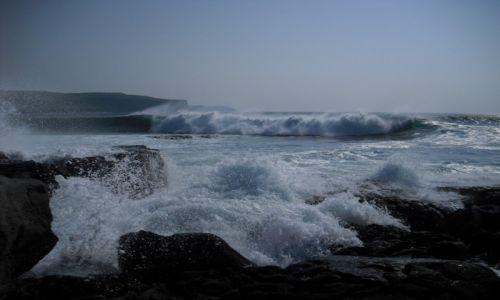 Zdjecie IRLANDIA / zachodnia Irlandia / Ballyvaughan / spokój oceanu