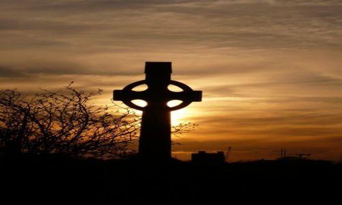 Zdjęcie IRLANDIA / HRABSTWO MEATH / TRIM / CELTYCKI KRZYŻ
