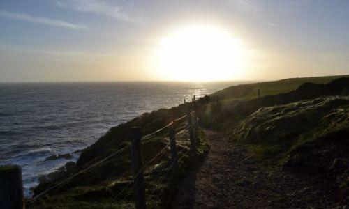 Zdjęcie IRLANDIA / Cork / Ballycotton / W stronę słońca