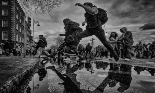 Zdjęcie IRLANDIA / Dublin / Dublin / Deszczowy Dublin