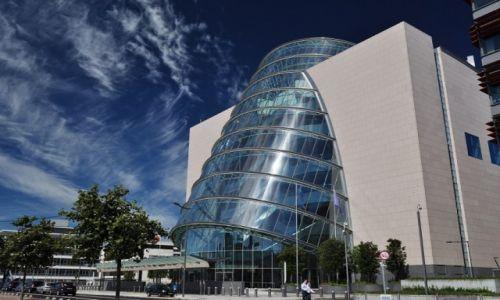 Zdjecie IRLANDIA / Dublin / Dublin / Ciekawy budynek