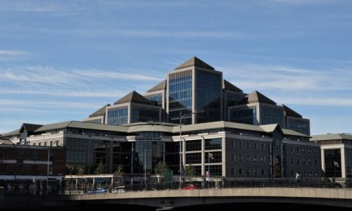 Zdjęcie IRLANDIA / Dublin / Dublin / Budynek Ulster Banku