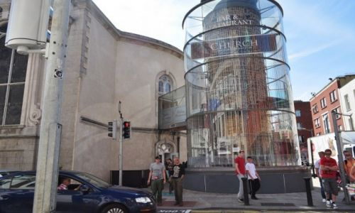 Zdjecie IRLANDIA / Dublin / Dublin / Restauracja w kościele