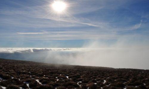 Zdjecie IRLANDIA / waterford / Comeragh Mountains. / ponad chmurami
