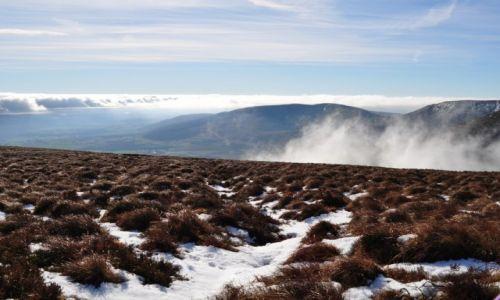 Zdjecie IRLANDIA / waterford / Comeragh Mountains. / ponad chmurami2