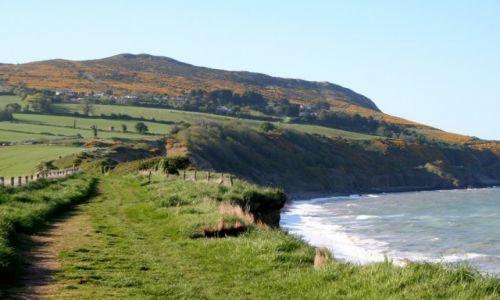 Zdjecie IRLANDIA / Dublin / Bray / Bray Cliffs