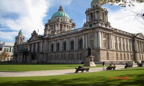 Zdjęcie IRLANDIA / Irlandia Pln. / Belfast / City Hall Belfast