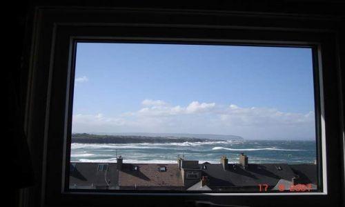 Zdjęcie IRLANDIA / Irlandia Pln. / Portrush / widok z mieszkanka:)