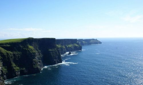 Zdjęcie IRLANDIA / Lislorkan North / Klify Moherowe / Klify Moherowe