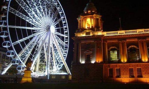 Zdjęcie IRLANDIA / Irlandia Pln. / Belfast / BELFAST EYE:)nocą