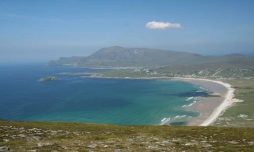 Zdjecie IRLANDIA / mayo / wyspa Achill / plaza