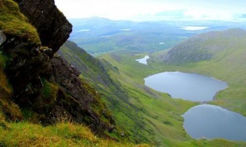 Zdjecie IRLANDIA / Kerry / Macgillycuddy's Reeks / W drodze na Carrantuohill.