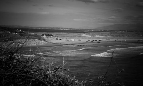 Zdjecie IRLANDIA / County Kerry / Inch / fale