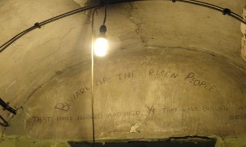 Zdjecie IRLANDIA / Dublin / Dublin, więzienie Kilmainham / strzeżcie się...