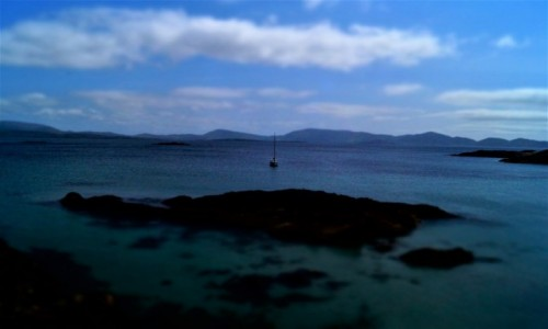 Zdjecie IRLANDIA / Kerry / Cahersiveen / Sea