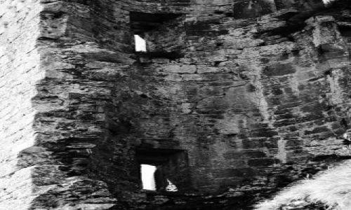 Zdjęcie IRLANDIA / County Kerry / okolice Inch / ruiny2