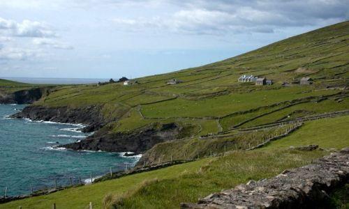 Zdjecie IRLANDIA / County Kerry / gdzieś w okolicach Inch / domki