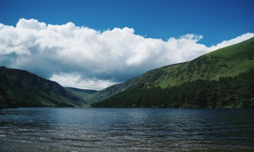 Zdjecie IRLANDIA / Wicklow / Upper Lake / Glendalough