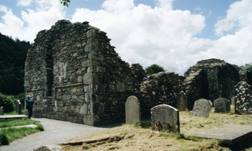 Zdjecie IRLANDIA / Co. Wicklow / Glendalough / Monastic City