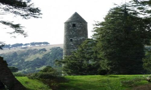 Zdjecie IRLANDIA / Wiklow / Bray / Pozostałości po osadzie celtyckiej
