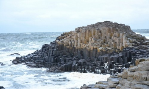 IRLANDIA / hrabstwo Antrim / Grobla Olbrzyma / Grobla Olbrzyma, Giants Causeway