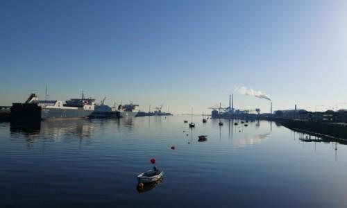 Zdjecie IRLANDIA / Dublin  / Dublin port  / Dublin port