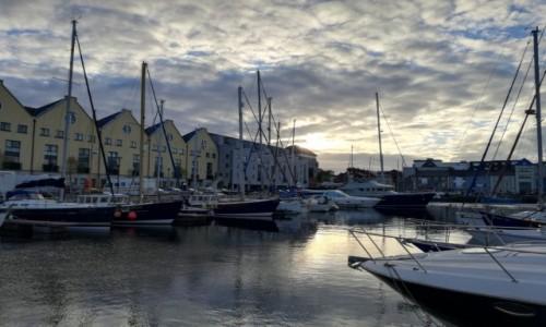 Zdjecie IRLANDIA / Co.Galway / Galway / Port jachtowy w Galway