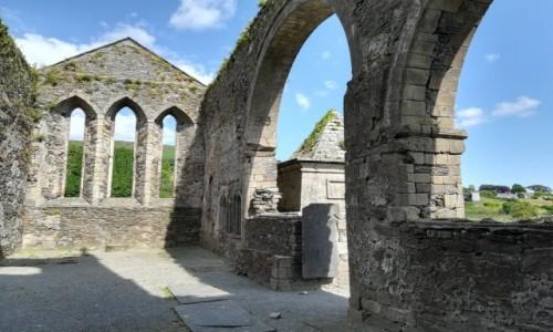 Zdjecie IRLANDIA / Co.Wicklow / Baltinglass  / Ruiny kościoła w Baltinglass