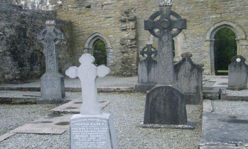 Zdjecie IRLANDIA / Zachodnia Irlandia / Zachodnia Irlandia / Klasztor w Cong