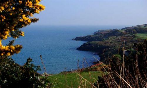 Zdjęcie IRLANDIA / WICKLOW / BRITTAS BAY / Klify otaczające plaże