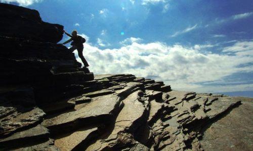 Zdjecie IRLANDIA / co.clare / kilkee / wulkaniczne skały