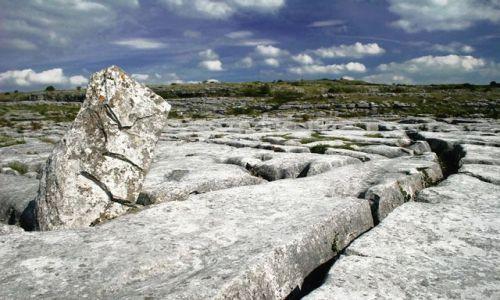 Zdjęcie IRLANDIA / hrabstwo Clare / płaskowyż Burren / Skałki