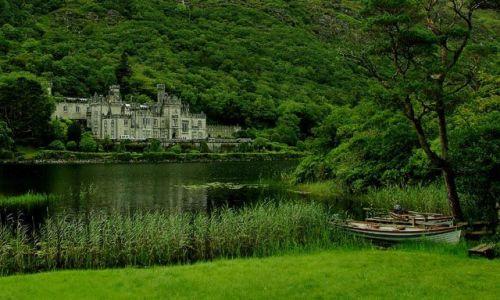 IRLANDIA / brak / connemara / Kylemore Abbey